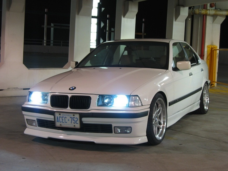 E36 R Style Front Spoiler Bmw Racing Parts