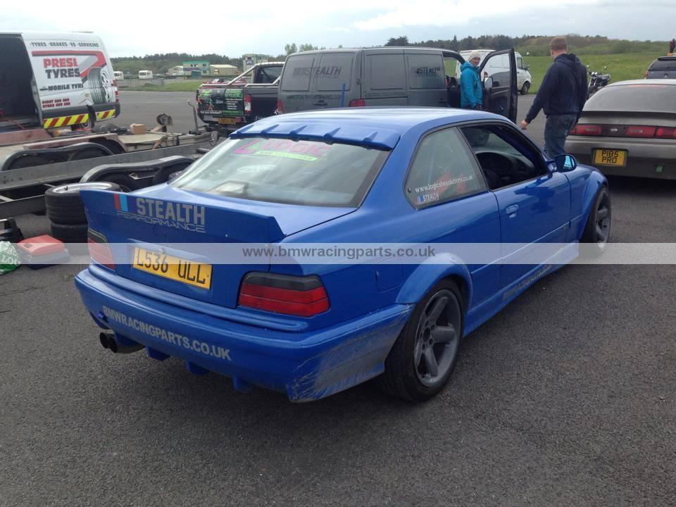 E36 Coupe Roof Spoiler Bmw Racing Parts
