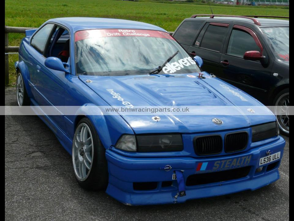 E36 Coupe Cabrio Wide Front Wings And Wide Rear Arch