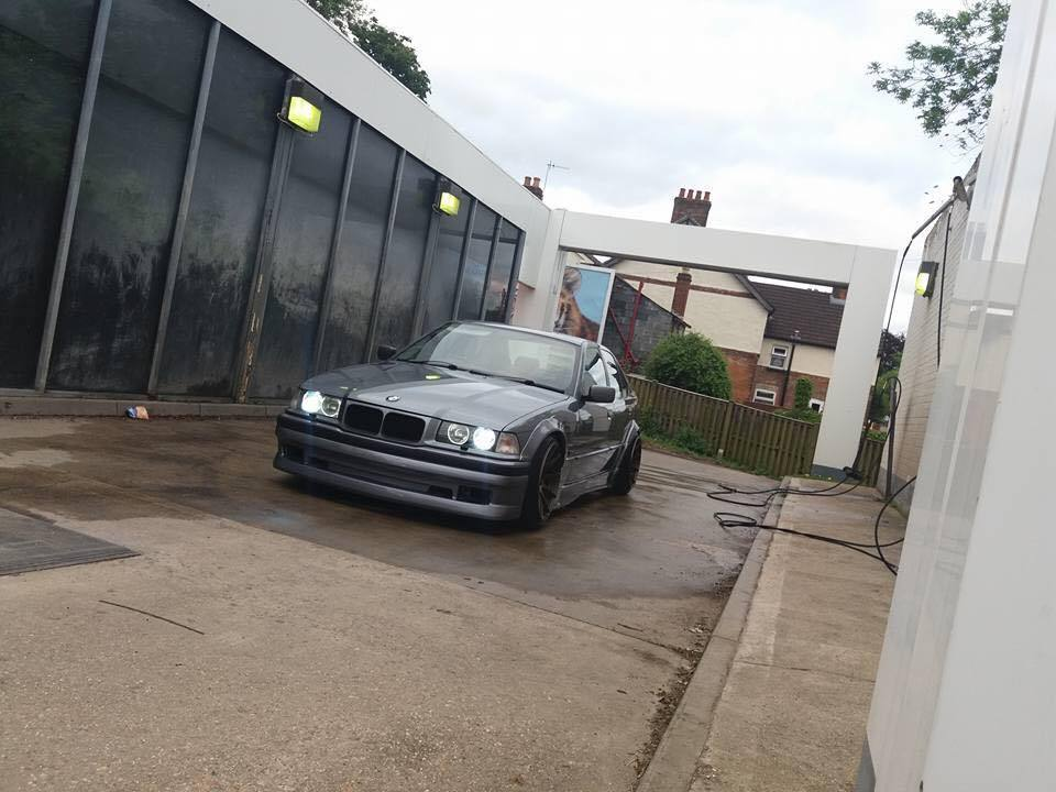 E36 4 Door Arch Extensions Quot R Style Quot Bmw Racing Parts