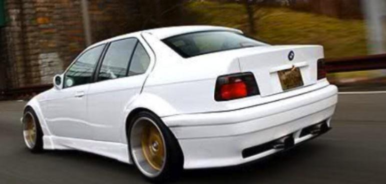 E36 4 Door Infinity 2 Style Wide Arch Body Kit Bmw Racing Parts