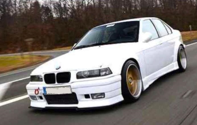 E36 4 Door Infinity 2 Style Wide Arch Body Kit Bmw