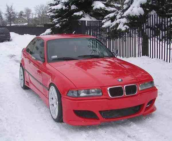E36 M5 Style Front Bumper Bmw Racing Parts