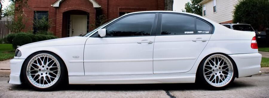 E46 Saloon Sport Style Side Skirts Supplied In Pairs