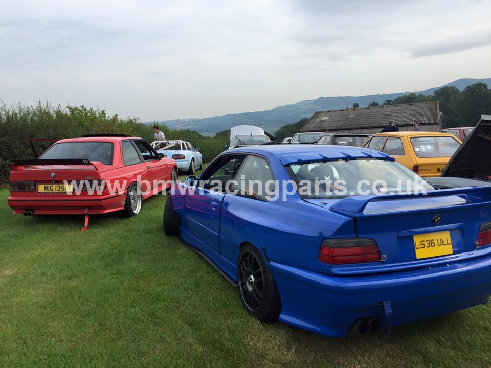 E36 Coupe Cabrio Bolt On Wide Rear Quarters Bmw Racing Parts
