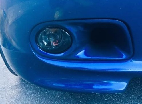 E46 M-Tech 2 Fog Light Covers / Air Intake