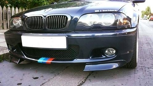E46 M Tech 2 Fog Light Covers Air Intake Bmw Racing Parts