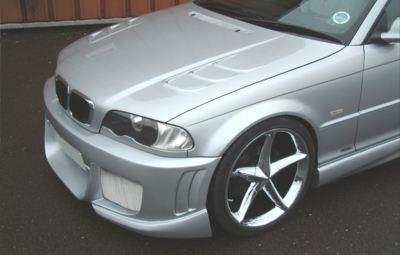 E46 Coupe/Cabrio Lightweight Vented Bonnet
