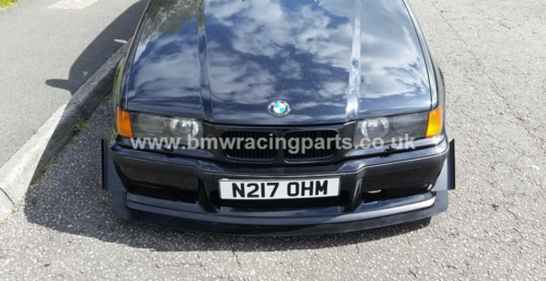 E36 Front Canards For M3 Bumper