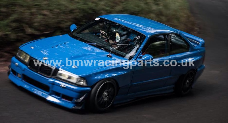 E36 Coupe / Cabrio Bolt On Wide Overfenders - Bmw racing parts