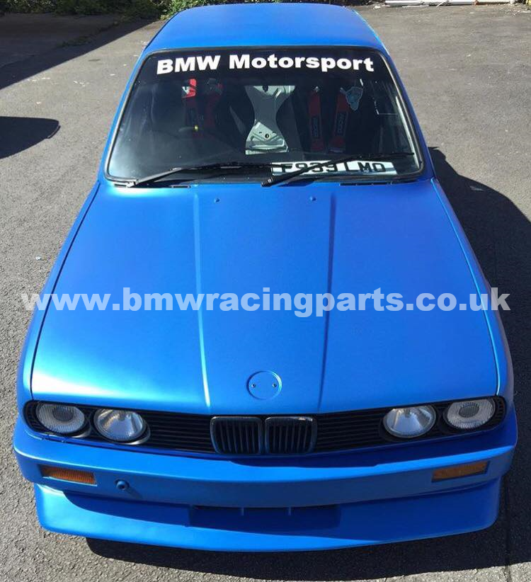 E30 M3 Evo Smooth Style Front Bumper Standard Width Bmw Racing Parts