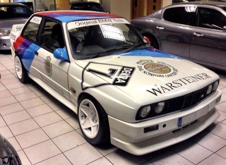 E30 M3 Evo Smooth Style Front Bumper Standard Width