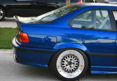 E36 Coupe/Cabrio Lightweight CSL Style Bootlid
