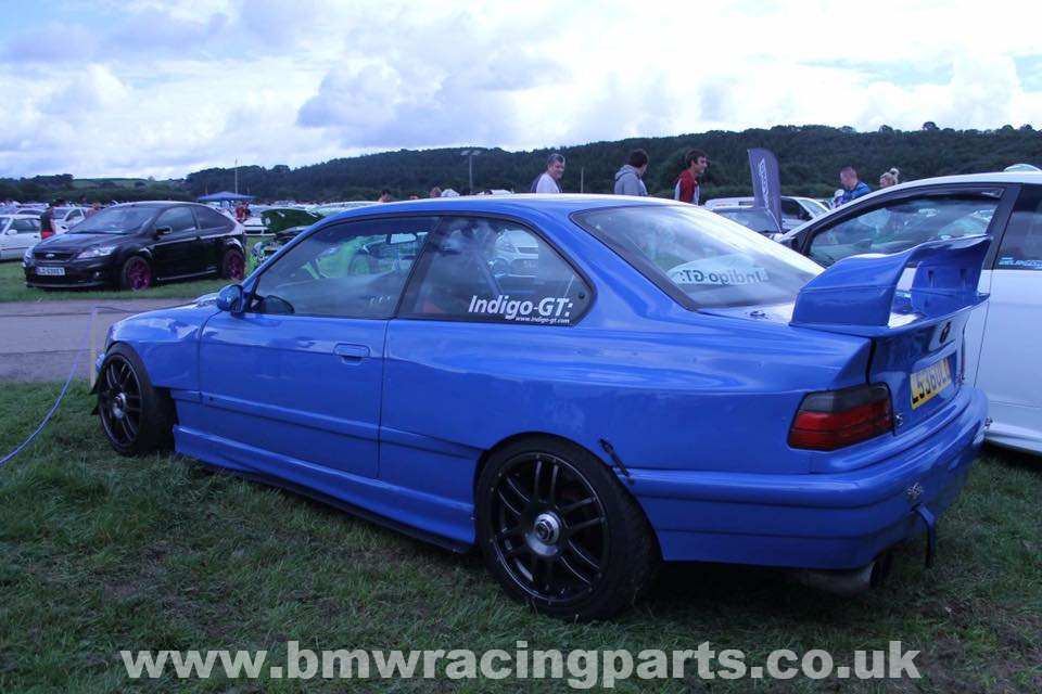E36 M3 Gt Rear Spoiler Raising Blocks Bmw Racing Parts