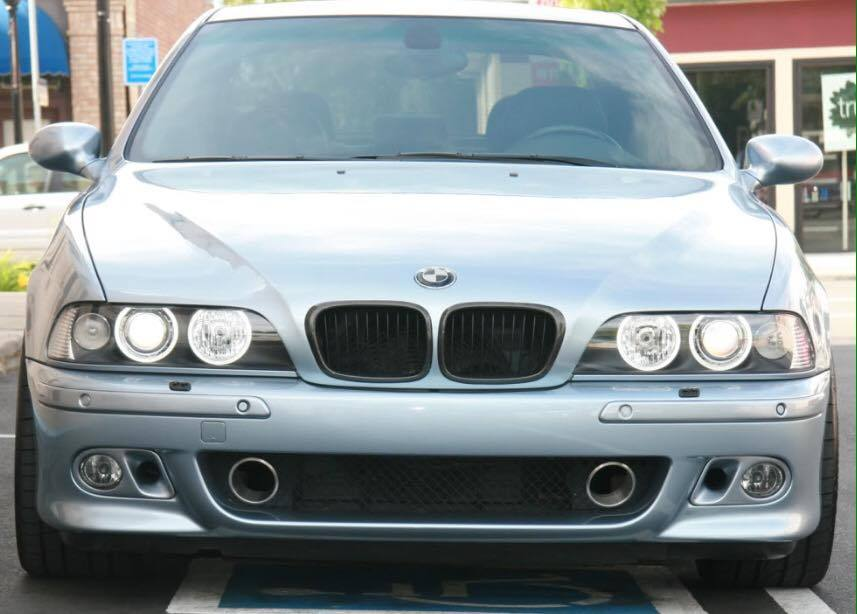E39 M5 Amp Sport Fog Light Covers Air Intake Bmw Racing