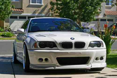 E46 M3 foglight covers