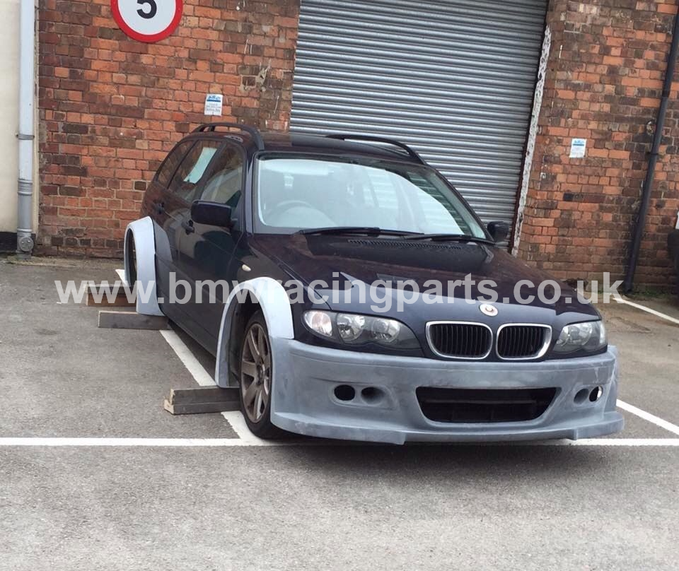 E46 Coupe Cabrio Quot Nfs Gtr Quot Wide Arch Bodykit Bmw Racing Parts