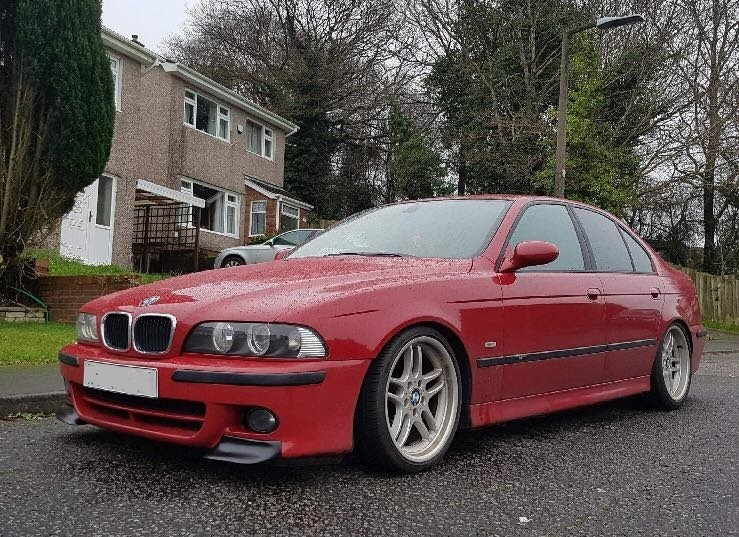 E39 Csl Inspired Corner Splitters To Fit M5 Amp Sport Bumper Bmw Racing Parts
