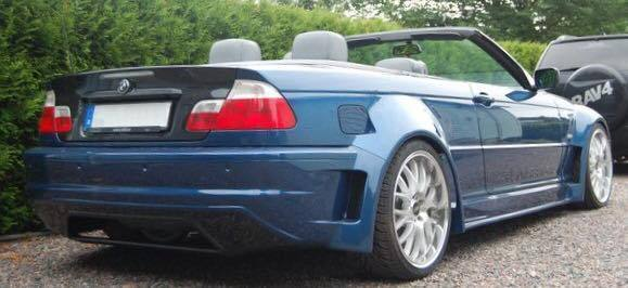 E46 Coupe Cabrio Quot Type Z Quot Wide Arch Bodykit Bmw Racing Parts
