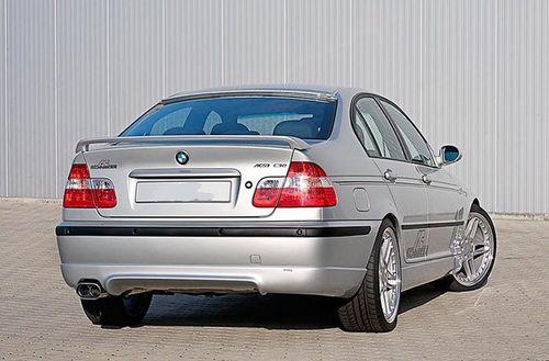 "E46 Saloon Facelift ""AC Style""  Rear Skirt"