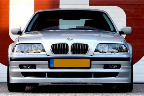 "E46 Saloon ""A Style""  Front Spoiler and Boot Spoiler"