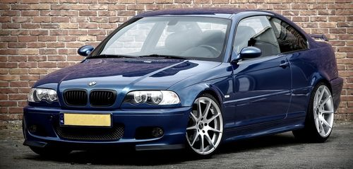 E46 M-tech 2 Clubsport Style Front Splitters