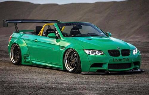 E92/3 M3 Rocket Bunny arch kit