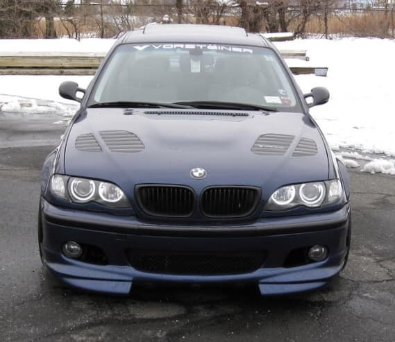 Bmw Z4 Splitter: E46 M-Tech R Style Front Splitter